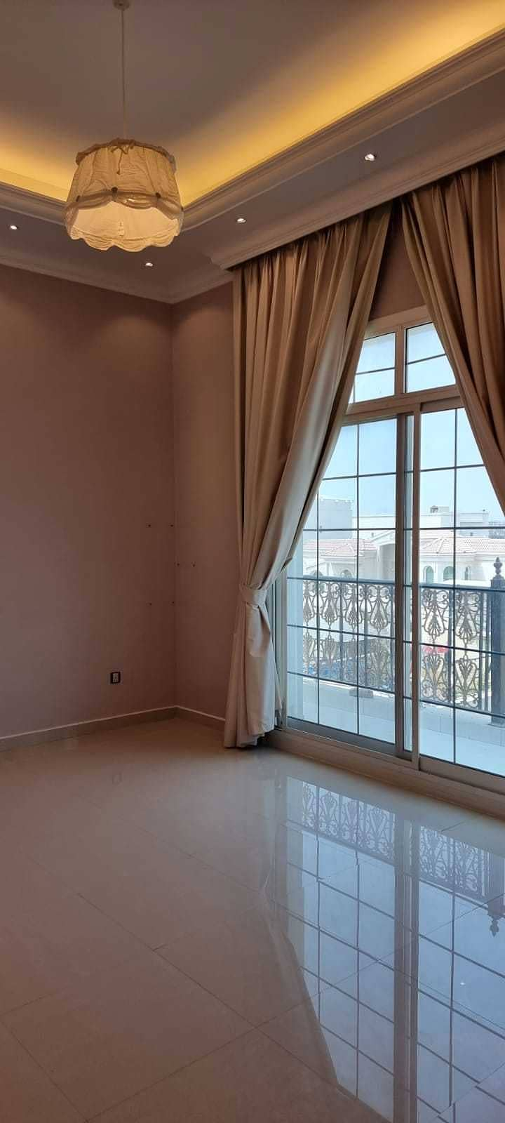 Luxury villa for rent in khawaneej first ( 6bed + hall + living + dining +