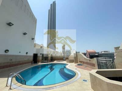 شقة 3 غرف نوم للايجار في شارع ليوا، أبوظبي - شقة في شارع ليوا 3 غرف 110000 درهم - 5015456
