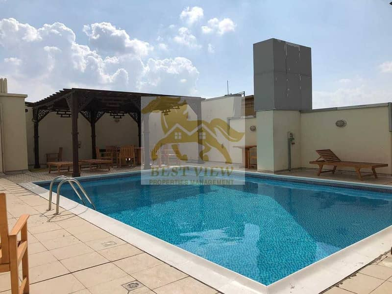 Spacious Tower Building 2 Bedrooms With GYM&POOL.