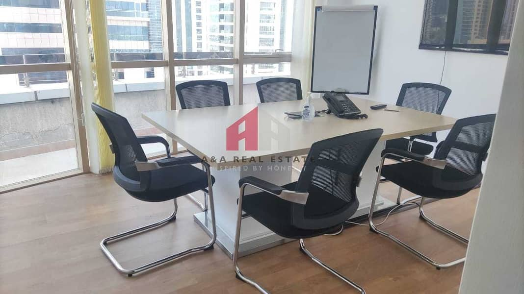 Semi furnished with partitioned office for Rent in Fortune Executive Tower