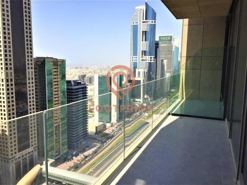 2 Maze Tower | With balcony| Sheikh Zayed High amazing view|
