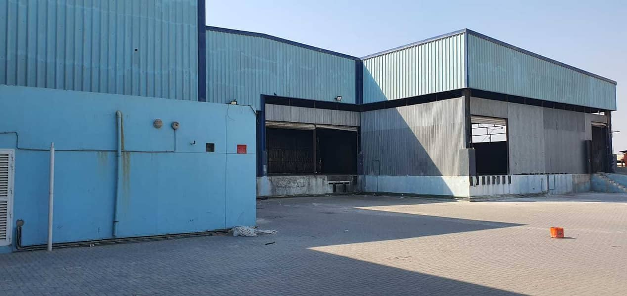 Commercial & Industrial Warehouse 40,000Sqft with High Power