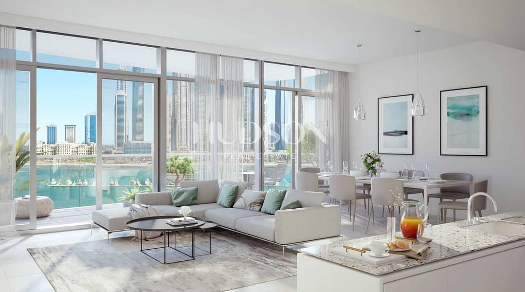 شقة في مارينا فيستا تاور 1 مارينا فيستا إعمار الواجهة المائية دبي هاربور 3 غرف 4997888 درهم - 5388417