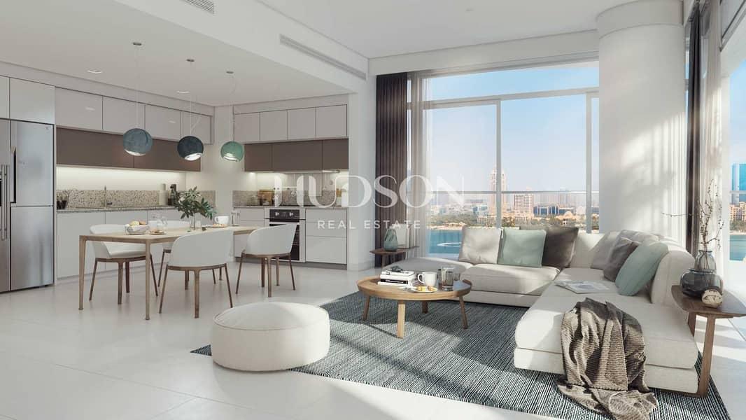 شقة في مارينا فيستا تاور 2 مارينا فيستا إعمار الواجهة المائية دبي هاربور 2 غرف 2603888 درهم - 5388389