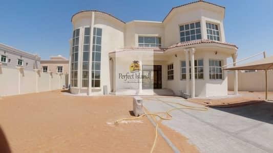 6 Bedroom Villa for Rent in Shakhbout City (Khalifa City B), Abu Dhabi - Brand New Stand Alone Corner Luxury 6 BR + M   Driver   Huge Yard