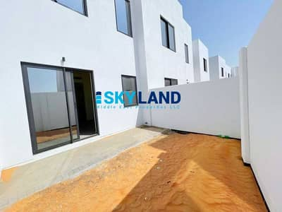 Studio for Rent in Al Ghadeer, Abu Dhabi - Brand New Studio Apt with Private Garden and Parking !