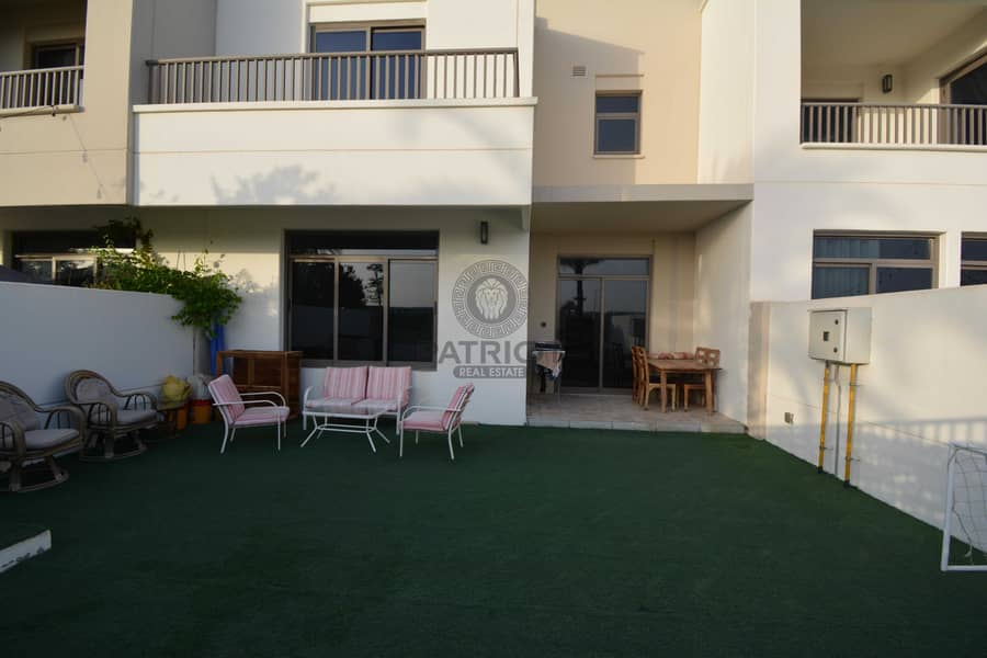 Spacious 3 Br + Maid room single Row villa Ready to Move-In