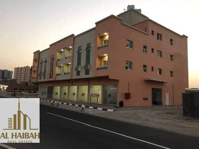 Building for Sale in Al Jurf, Ajman - For sale new building G + 2 and Rove on Qar Street