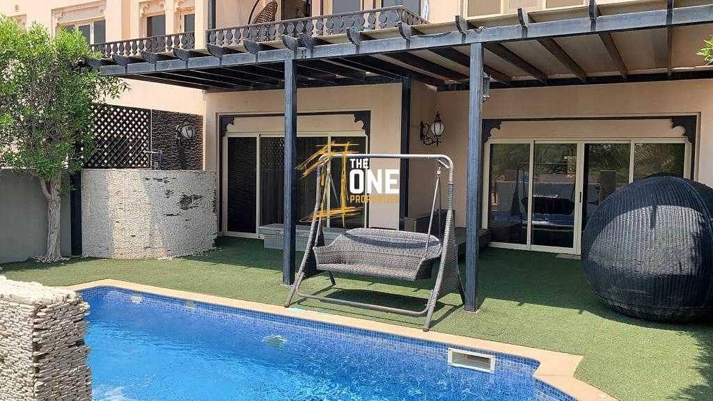 Fully Furnished 3 Bedrooms + Maid + Study  Villa  For Rent - AL Hamra Village