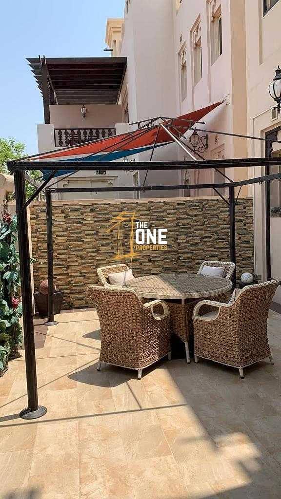2 Fully Furnished 3 Bedrooms + Maid + Study  Villa  For Rent - AL Hamra Village