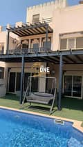 14 Fully Furnished 3 Bedrooms + Maid + Study  Villa  For Rent - AL Hamra Village