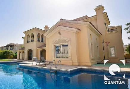 6 Bedroom Villa for Sale in Arabian Ranches, Dubai - Fully Furnished   On Polo Field   Type A
