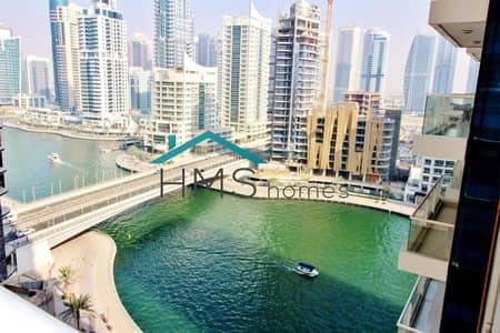 فلیٹ 1 غرفة نوم للايجار في دبي مارينا، دبي - 1 Bedroom   Unfurnished   Marina View