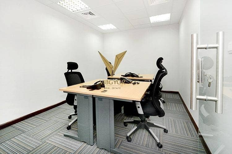 5 Full Internal Partition Office for Rent in Mazaya Business Avenue