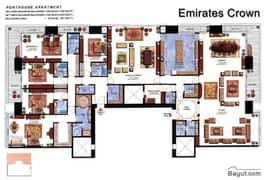 Floorplan Penthouse Apt