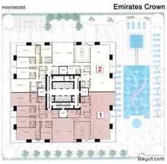 Floorplan Penthouse Layout