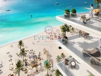 شقة 2 غرفة نوم للبيع في دبي هاربور، دبي - Stunning Arabian Gulf View | Private Beach Access
