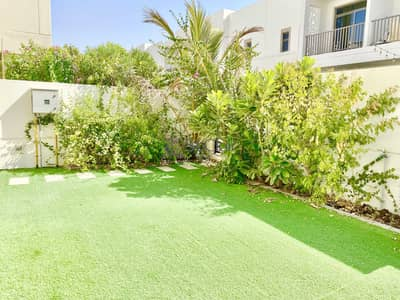 3 Bedroom Townhouse for Rent in Town Square, Dubai - Well- Kept Garden| Vacant 3 Bedroom plus Maids