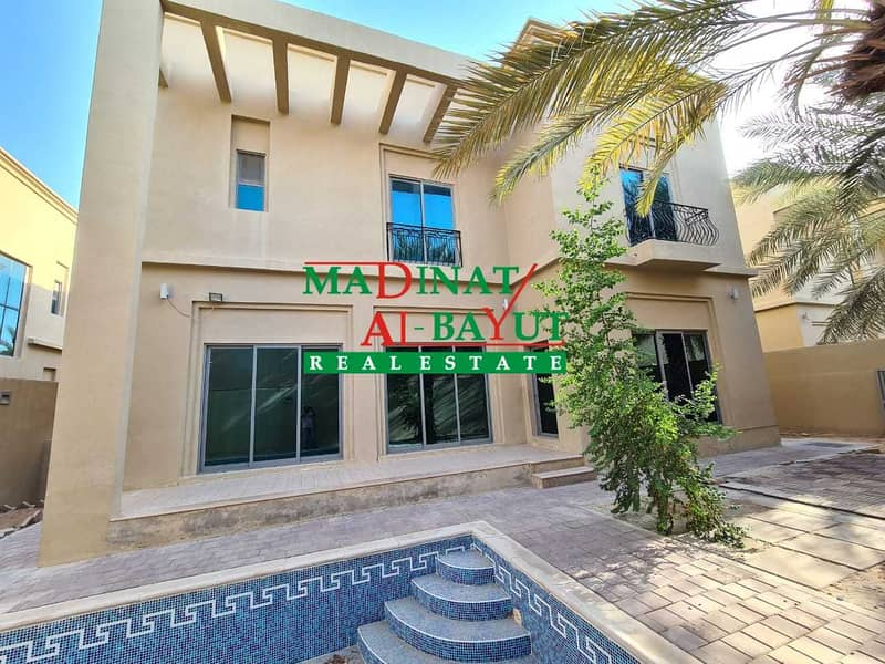 ASTONISHING 5 MASTER BEDROM VILLA WITH PRIVATE POOL & DRIVER\'S ROOM AWAIT IN MBZ