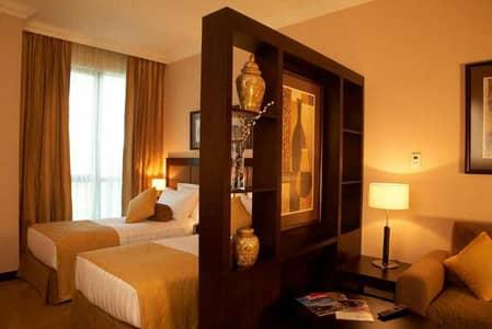 Hotel Apartment for Rent in Al Barsha, Dubai - Luxury Furnished Studiol Free Bills l Free Cleaning l Free Wifi
