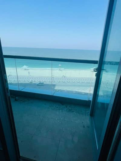 2 Bedroom Flat for Sale in Al Rumaila, Ajman - For sale apartments in installments in Ajman directly on the sea, open view