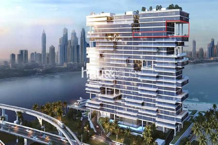 4 Bedroom Penthouse for Rent in Palm Jumeirah, Dubai - Now Viewable! | Penthouse | 360 views | Waterfall