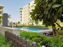 Pool view 2bedroom apartment in just 65k in cash and 4 cheque 70k