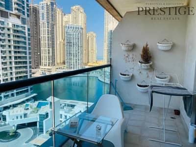 شقة 1 غرفة نوم للبيع في دبي مارينا، دبي - Amazing 1 bed  VOT  Quick access to metro