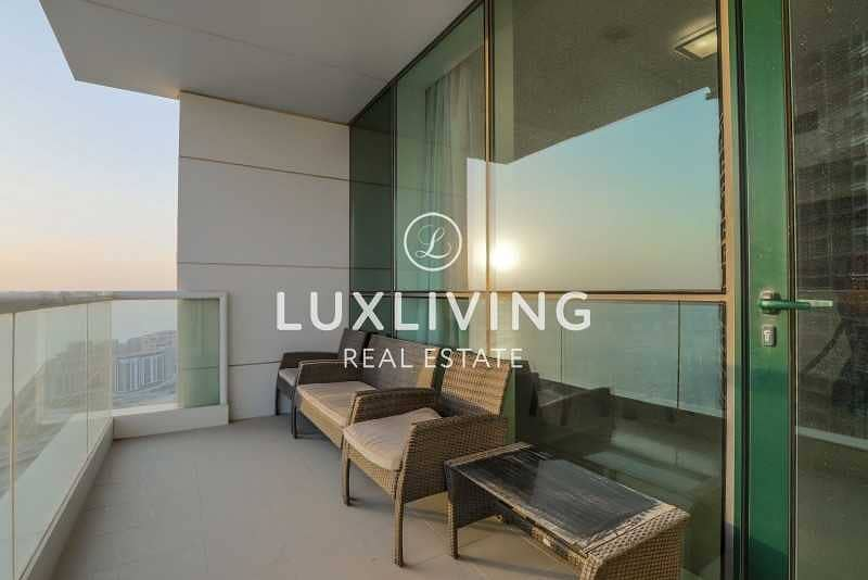 2 Panoramic Sea View | High Floor |2 Bedroom + Maids