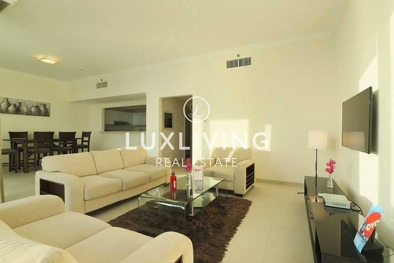 16 Panoramic Sea View | High Floor |2 Bedroom + Maids