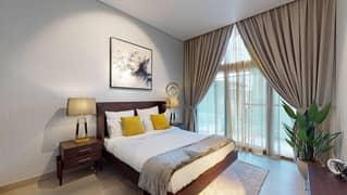 شقة في زازين وان الضاحية 7A مثلث قرية الجميرا (JVT) 2 غرف 1300000 درهم - 5396681
