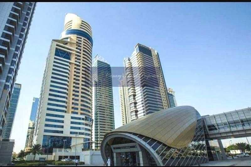 Near to Metro station | Fully Fitted Office for Rent in JLT.