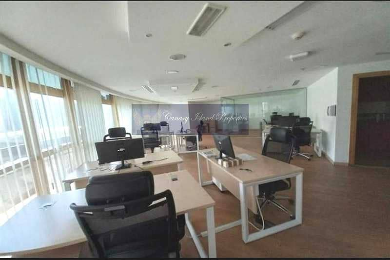 2 Near to Metro station | Fully Fitted Office for Rent in JLT.