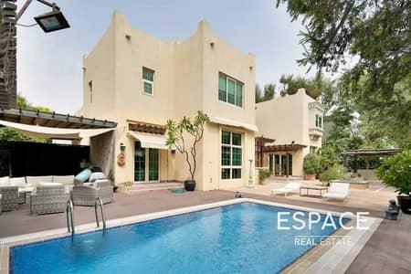 5 Bedroom Villa for Sale in Jumeirah Islands, Dubai - Amazing Masterview Villa | Lake View | 5BR+Maids
