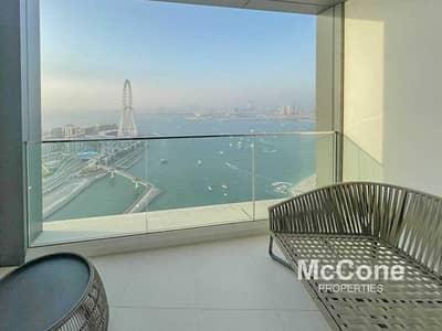 شقة 2 غرفة نوم للايجار في جميرا بيتش ريزيدنس، دبي - Type S2C | High floor | Luxurious Living