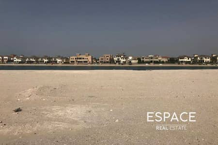 ارض سكنية  للبيع في نخلة جميرا، دبي - Genuine Listing   Best Priced Garden Home Plot
