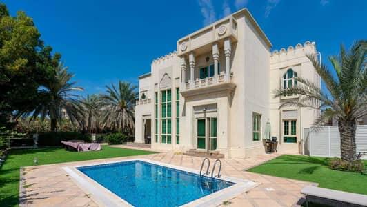 فیلا 4 غرف نوم للبيع في جزر جميرا، دبي - Vacant   Mamluki Style Villa   Corner Plot