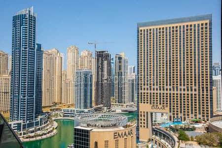 1 Bedroom Apartment for Rent in Dubai Marina, Dubai - Amazing Marina View | Balcony | Corner Unit | High