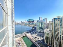 Sea View ! 2-BHK | No Deposit | Both Master Room | Parking Free | Gym Pool | Balcony In Al Majaz 3