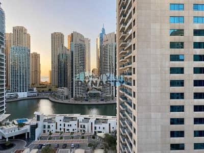 شقة 2 غرفة نوم للبيع في دبي مارينا، دبي - Upgraded    Full Marina View   2 BR    Chiller free