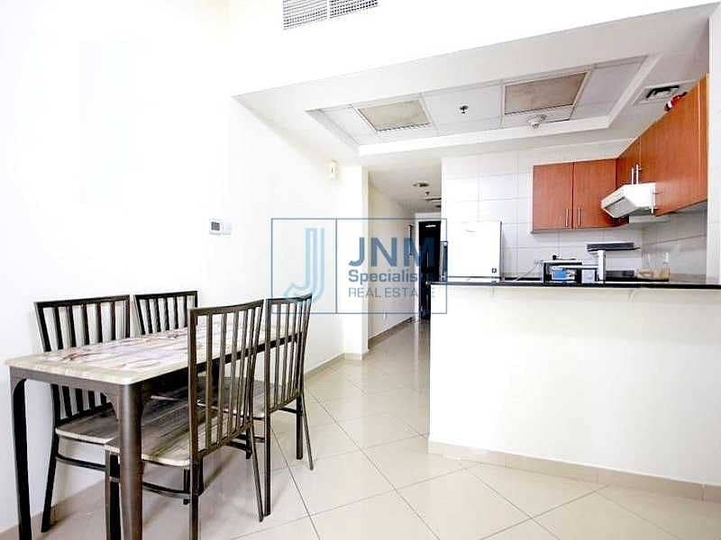 Spacious 1 BR | Community View | Concorde Tower