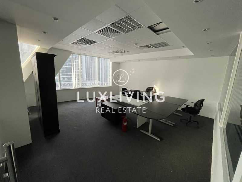 2 Hot Deal | Fully Fitted Office | Burj Khalifa View