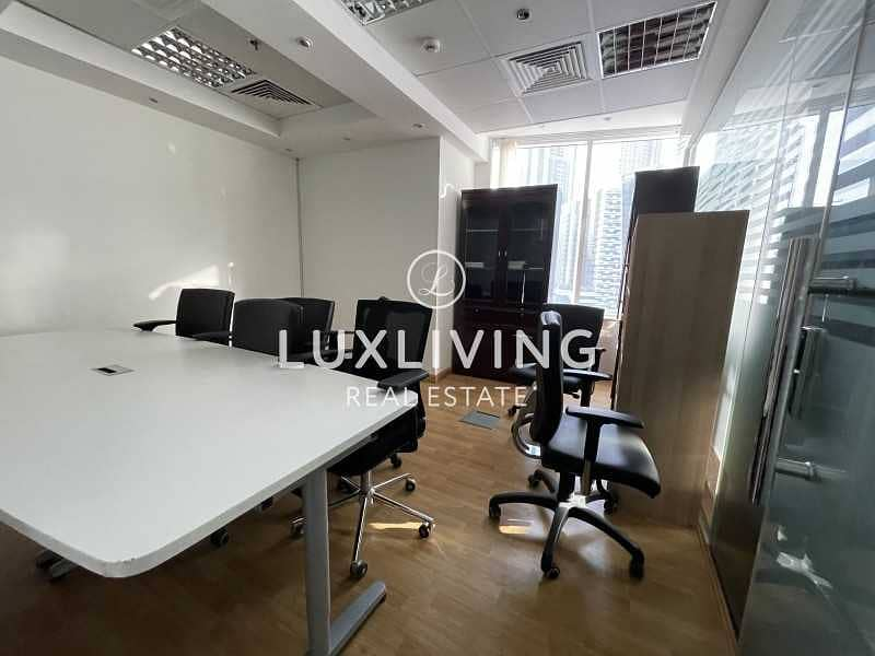 12 Hot Deal | Fully Fitted Office | Burj Khalifa View