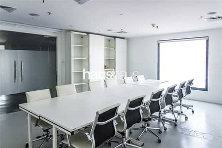 Office for Rent in Al Quoz, Dubai - Furnished   Partitioned   Metro Nearby   SZR