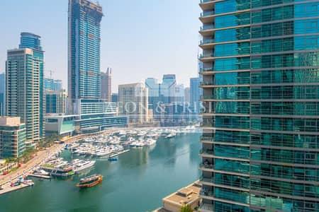 شقة 1 غرفة نوم للبيع في دبي مارينا، دبي - No Balcony | Marina View | Vacant | Bright Unit