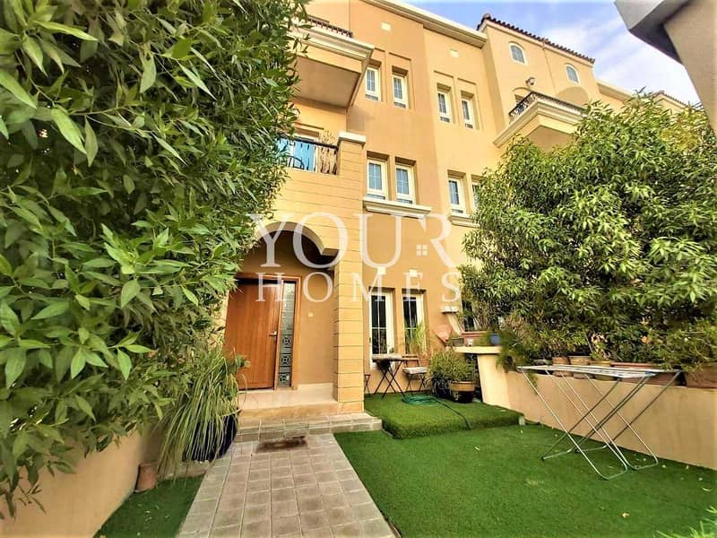 SB | Fully Furnished 3 Bed+Maid | Private Garden