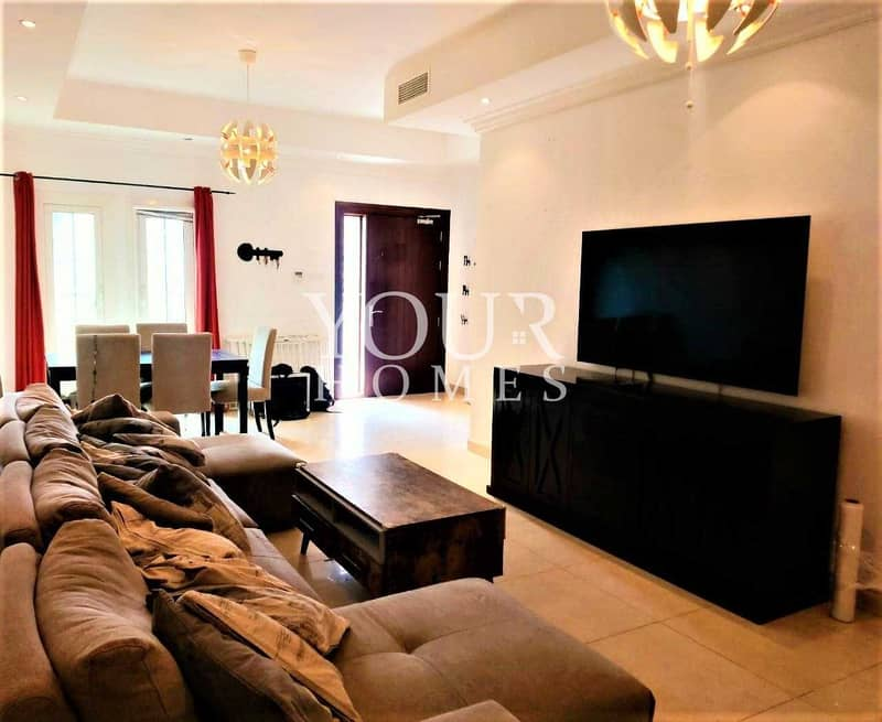 2 SB | Fully Furnished 3 Bed+Maid | Private Garden