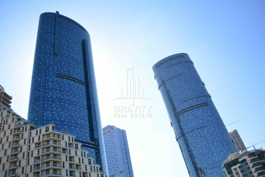 2 Bedroom Apartment in Sky Tower| Al Reem Island