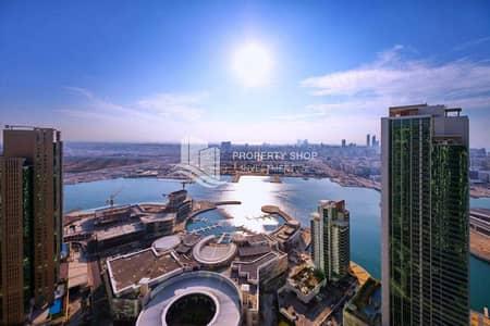 شقة 2 غرفة نوم للبيع في جزيرة الريم، أبوظبي - High ROI Sea View Rented High Floor Balcony