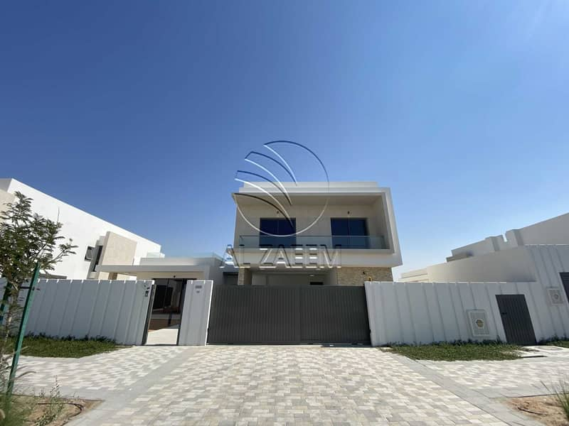 Upscale Living In Yas Acres   Facing  Golf Course View
